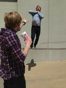 casual vadering with slushy