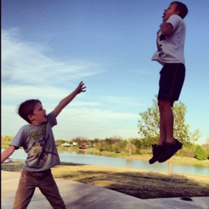 kid vadering his mate